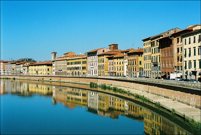 "photo ""Pisa - Morning"" tags: architecture, city, landscape,"