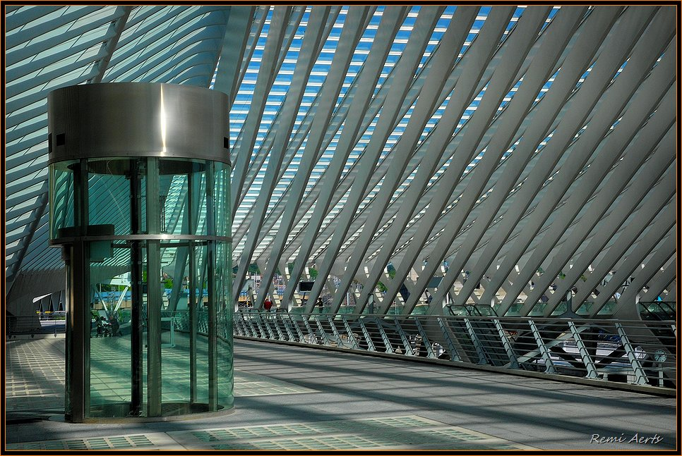 "photo ""Liege-Station Guillemins"" tags: architecture, reporting, landscape,"