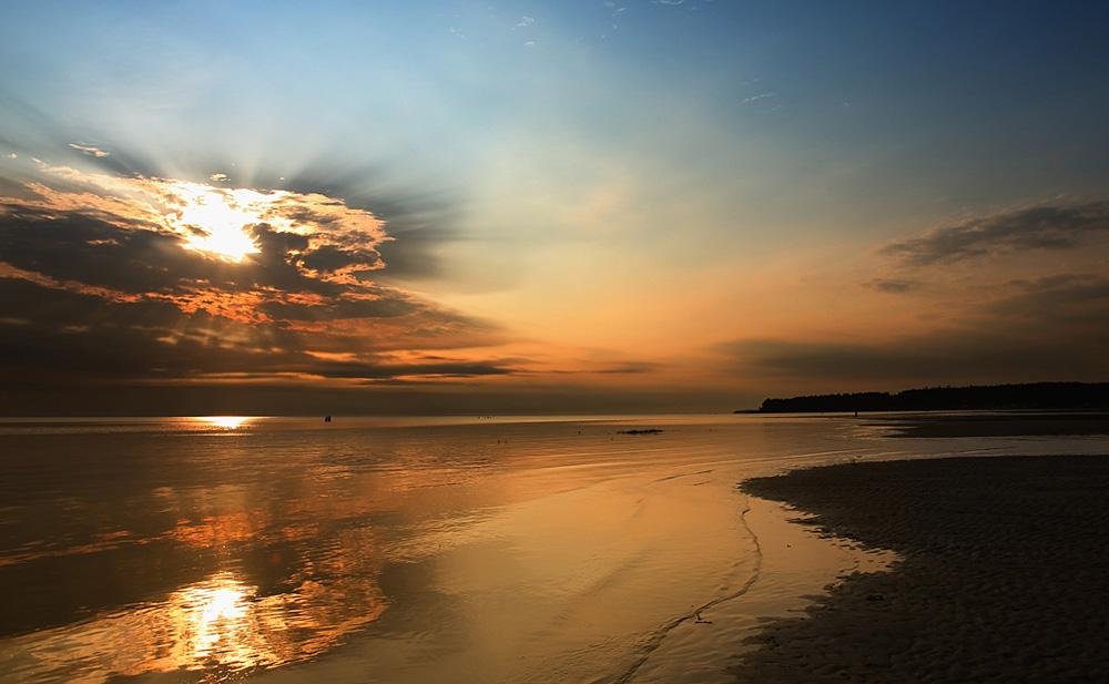 """фото """"Закатная"""" метки: пейзаж, вода"""