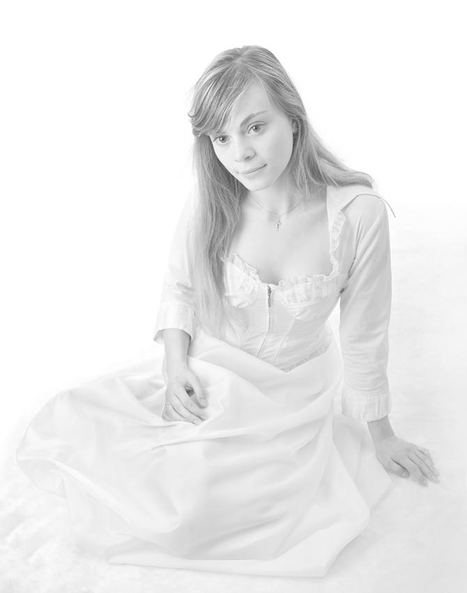 """фото """"Портрет в Высоком ключе 17 ( High key )"""" метки: портрет, женщина"""