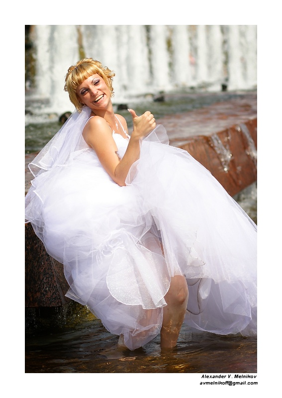 "фото ""Москва, жара, свадьба..."" метки: жанр, репортаж,"