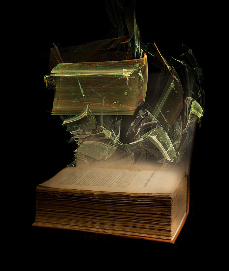 "photo ""Book Soul"" tags: digital art, montage,"