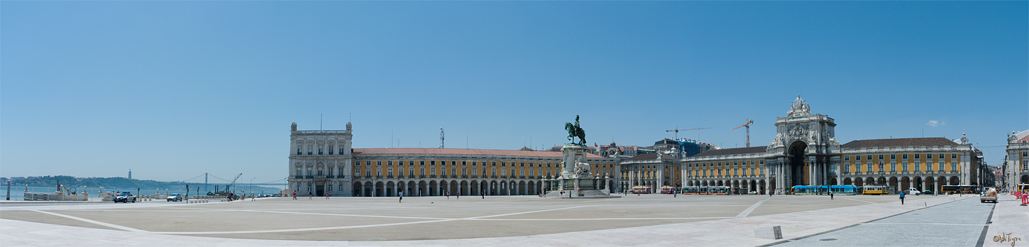 "photo ""Commerce Square"" tags: travel, panoramic, Europe"