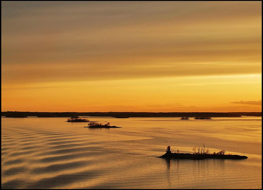 """фото """"растопило Солнце северную скупость"""" метки: пейзаж, путешествия, Европа, закат"""