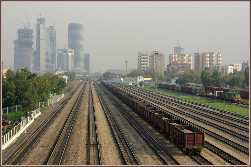 "photo ""Moscow City 2008"" tags: travel, city, Europe"