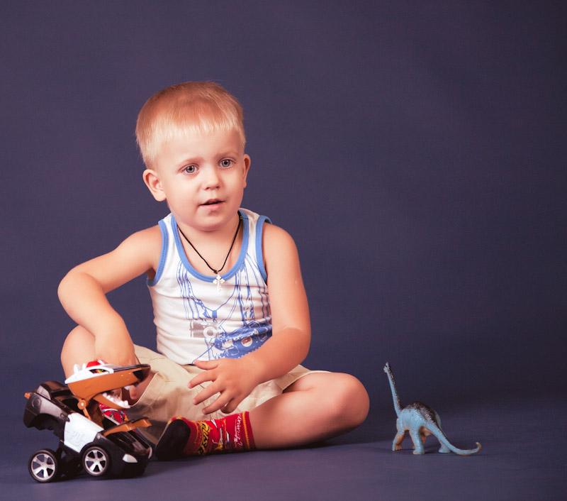 """фото """"Новая игрушка"""" метки: портрет, жанр, дети"""