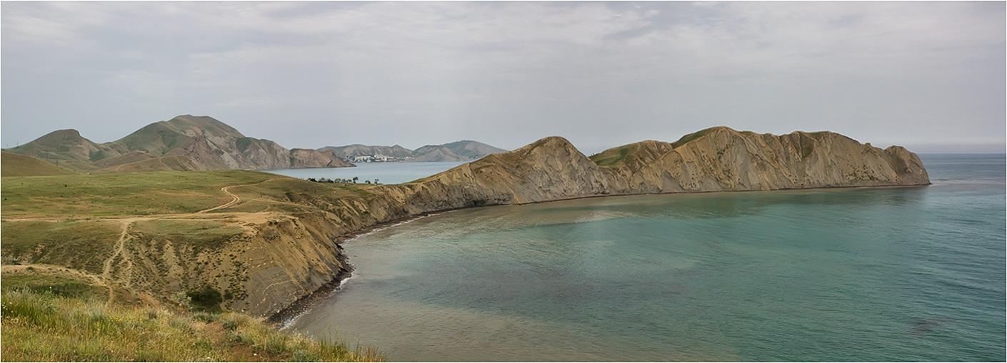 """фото """"***"""" метки: пейзаж, панорама, Крым, вода, горы, море"""