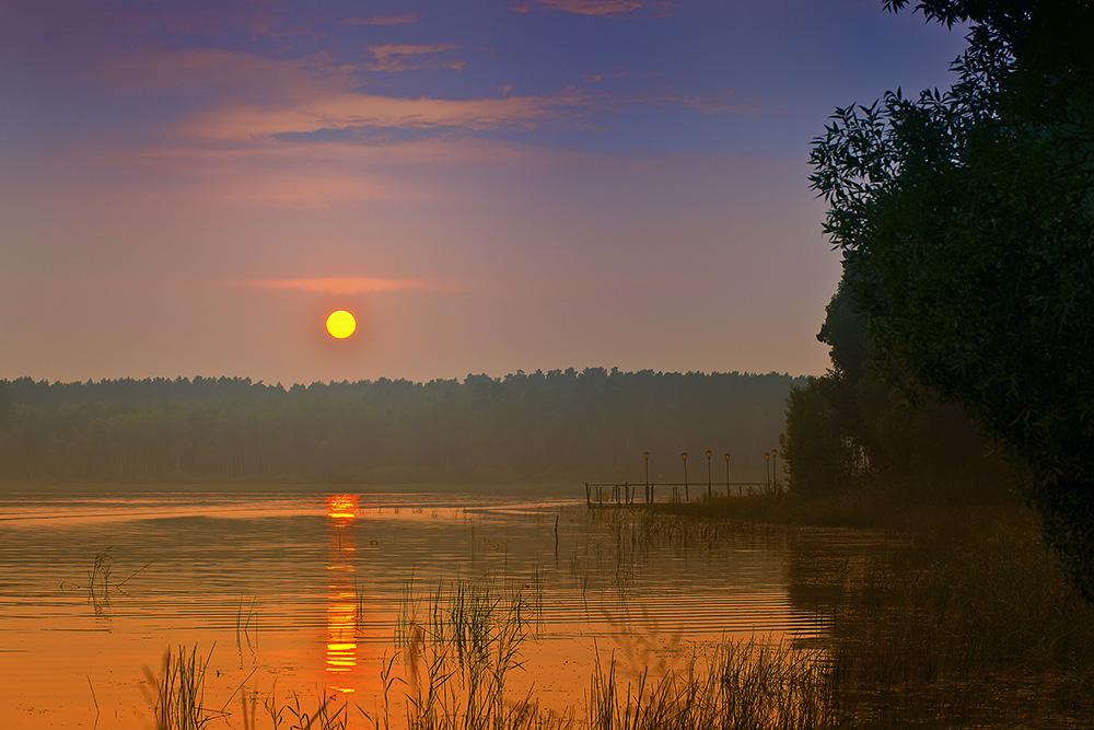 """фото """"..."""" метки: пейзаж, вода, закат"""