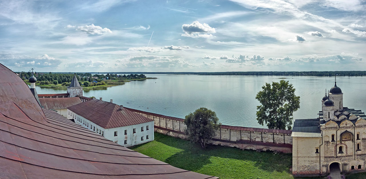 "photo ""Kirillo-Belozersky monastery"" tags: landscape, panoramic, summer"