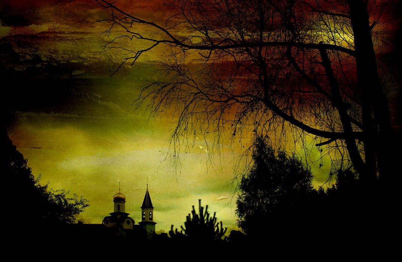 """фото """"Вечерний звон"""" метки: пейзаж, закат, лето"""