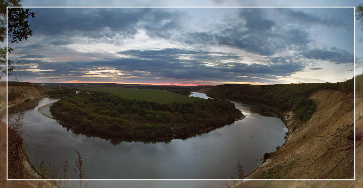 "photo ""Там вдали за рекой...."" tags: landscape,"