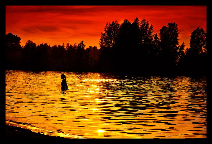 "фото ""Sunset"" метки: пейзаж, жанр, закат"