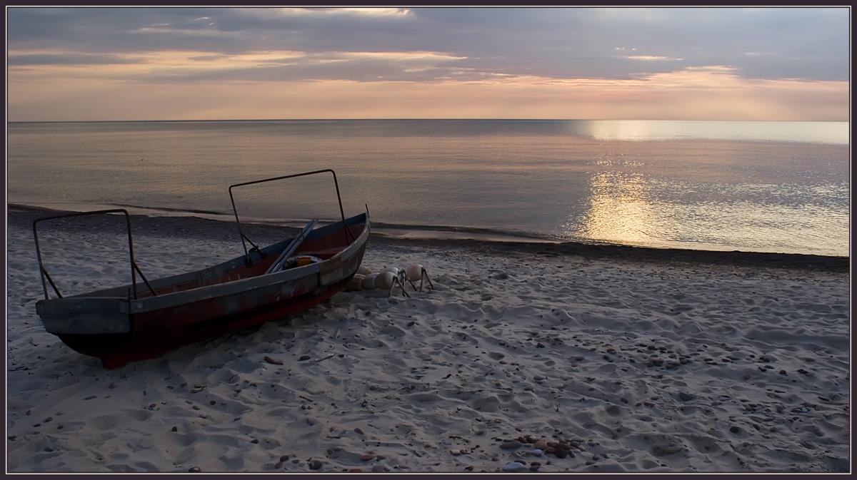 """фото """"Вечерний отдых"""" метки: пейзаж, вода, закат"""