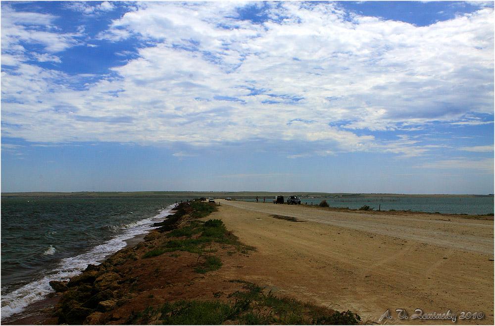 """фото """"Меж двух морей"""" метки: пейзаж, путешествия, Европа"""