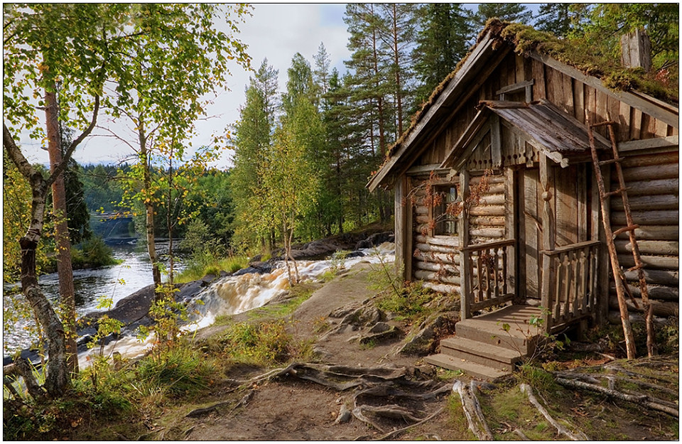 "фото ""Сторожка"" метки: пейзаж, архитектура, вода"