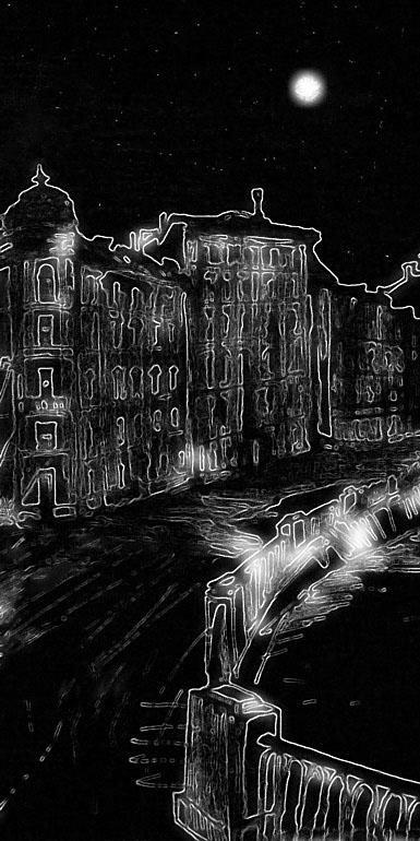 """фото """"Набережная Невы"""" метки: город,"""