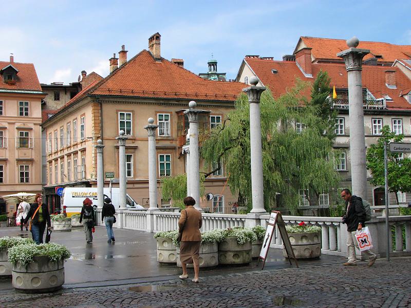 "фото ""Будний день в Любляне"" метки: архитектура, путешествия, пейзаж, Европа"