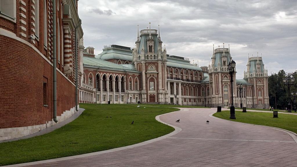 """фото """"Царицыно в пасмурный день"""" метки: архитектура, город, пейзаж,"""