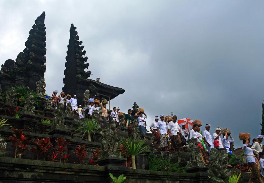"фото ""Бали. Храмовая церемония"" метки: путешествия, Азия"