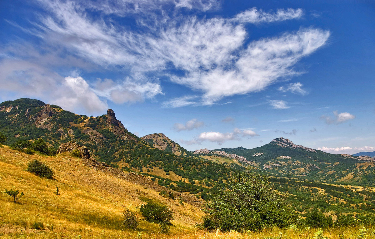 """фото """"В горах Киммерии."""" метки: пейзаж, лето"""