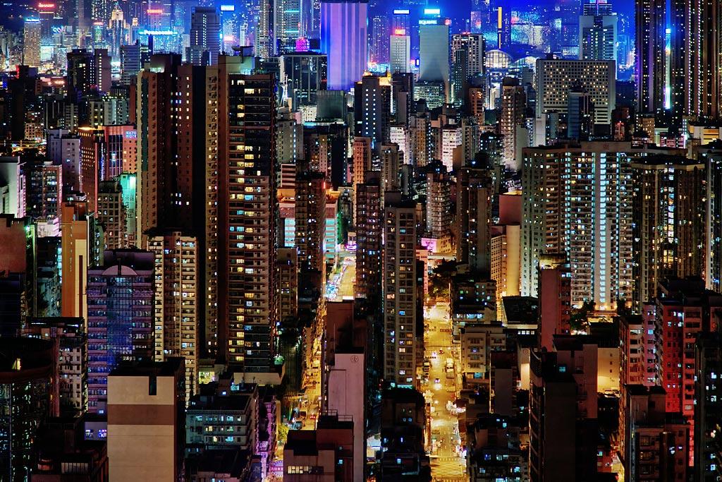 "фото ""Джунгли Каулуна"" метки: город, путешествия, Азия"