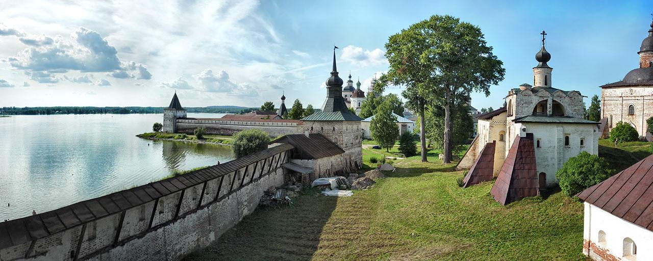 """фото """"Кирилло-Белозерский монастырь"""" метки: пейзаж, архитектура,"""