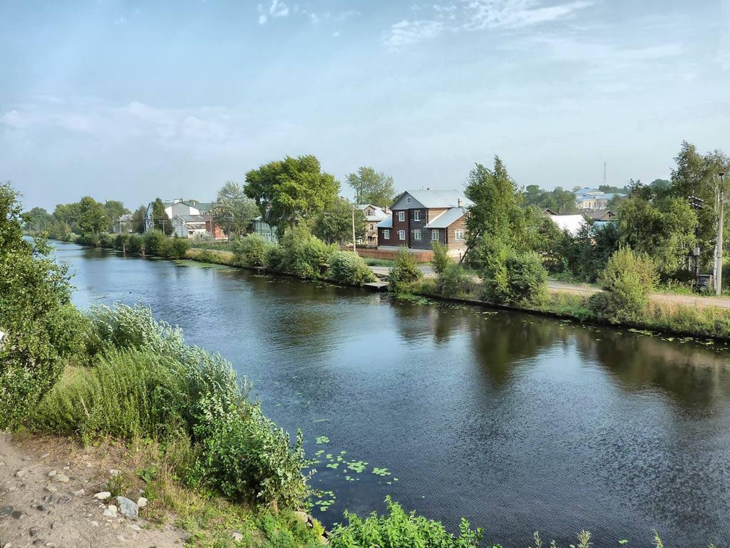 """фото """"Белозерский обводной канал"""" метки: пейзаж, вода"""