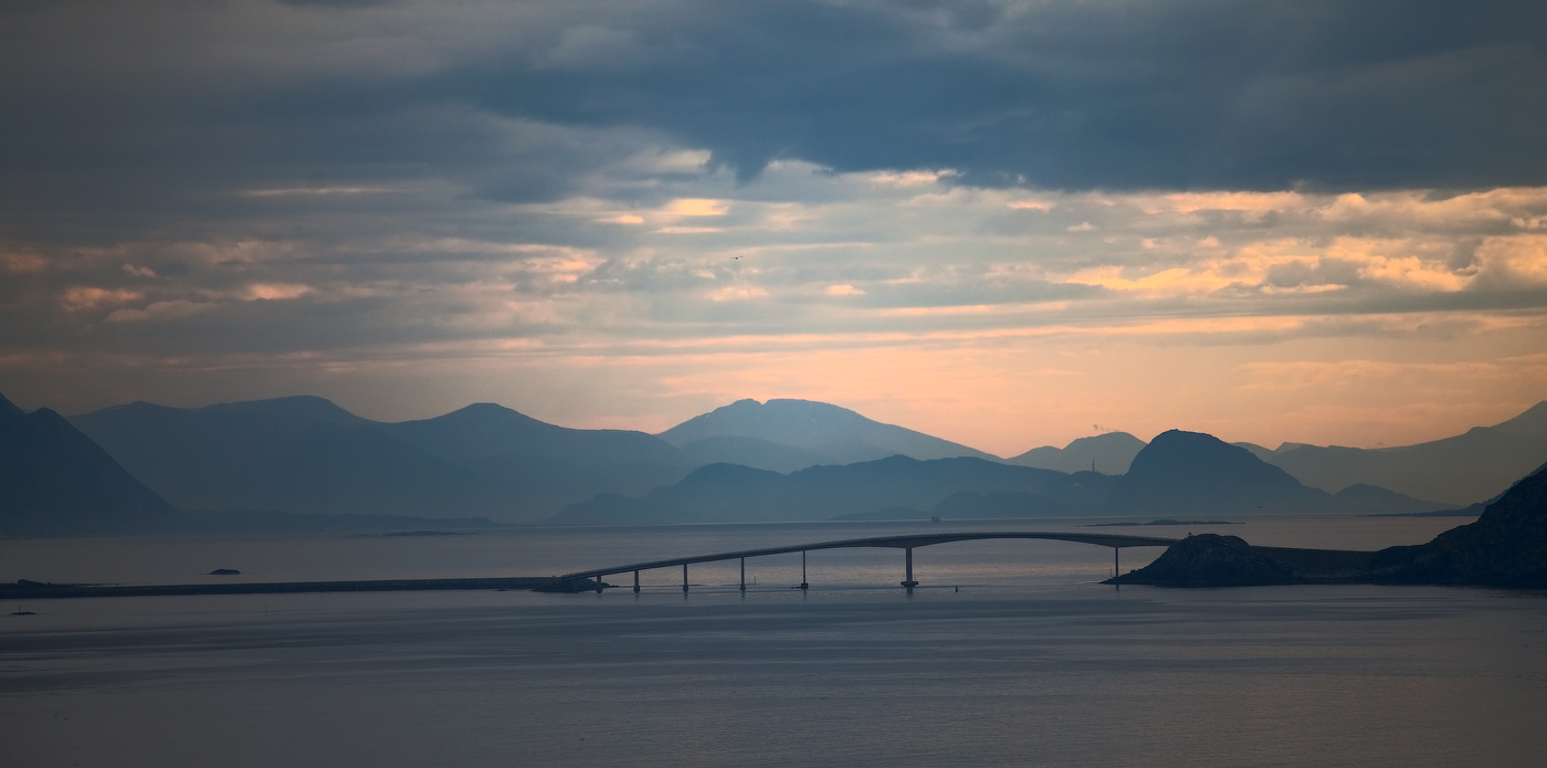 "фото ""белые ночи в Норвегии"" метки: пейзаж,"