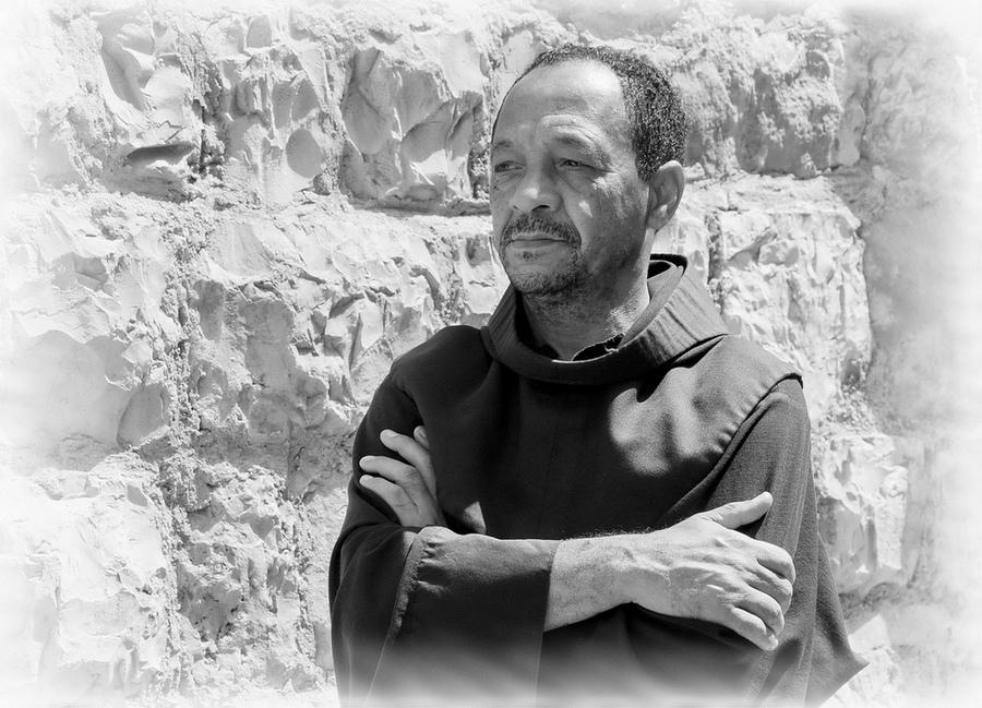 """фото """"Иерусалимский монах"""" метки: портрет, мужчина"""