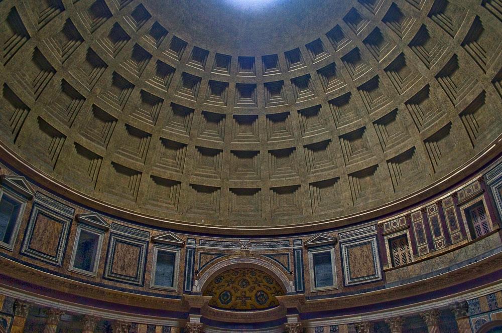 "фото ""Геометрия Римского Пантеона"" метки: интерьер, путешествия, Европа"