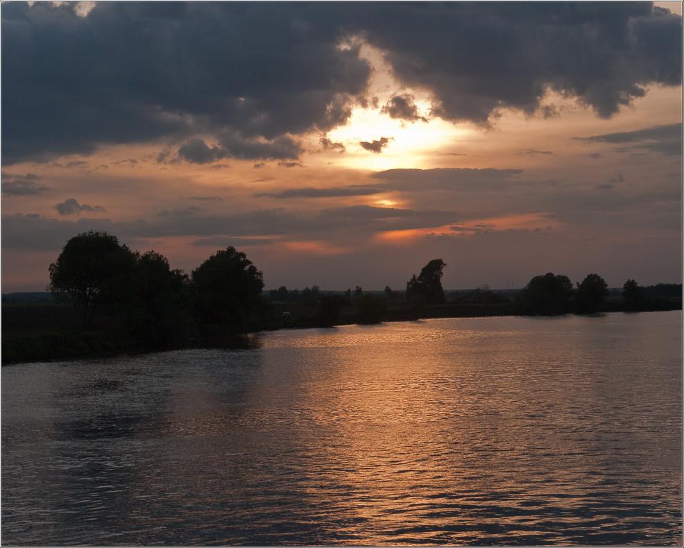 "фото ""Грозовой закат"" метки: пейзаж, закат"