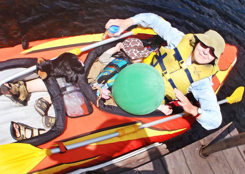 """фото """"Трое в лодке, не считая шарик"""" метки: путешествия, Северная Америка"""