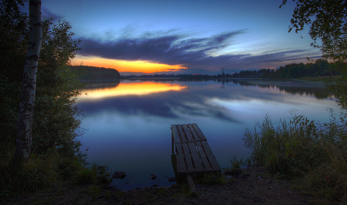 "фото ""Огонь и лед"" метки: пейзаж, вода, закат"
