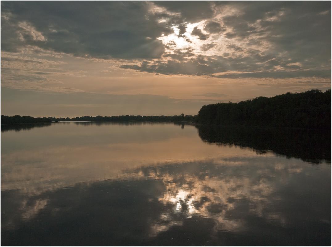 "фото ""Вечереет, ночь близка"" метки: пейзаж, закат"