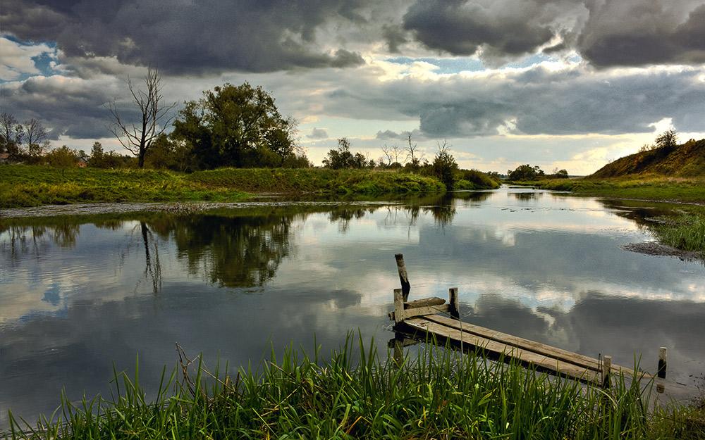 """фото """"Мостки"""" метки: пейзаж, вода"""