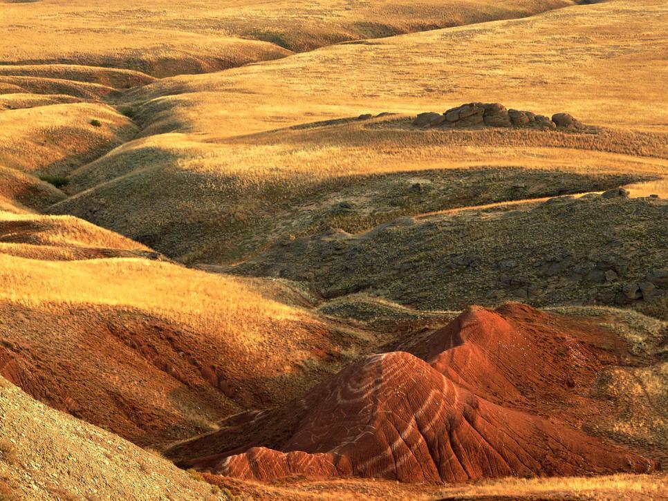 """фото """"Красные скалы горы Богдо"""" метки: пейзаж, горы"""