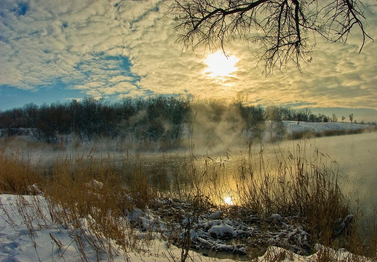 "фото ""В начале марта..."" метки: пейзаж, зима"