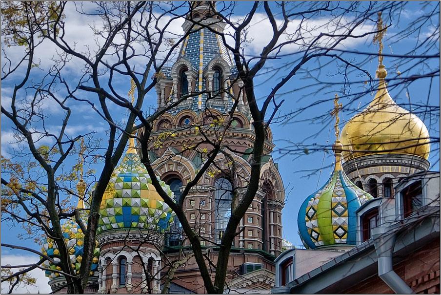 "фото ""Храм Спаса на Крови, Санкт-Петербург"" метки: архитектура, фрагмент, пейзаж,"