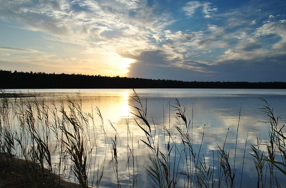 """фото """"На закате"""" метки: пейзаж, вода, лето"""