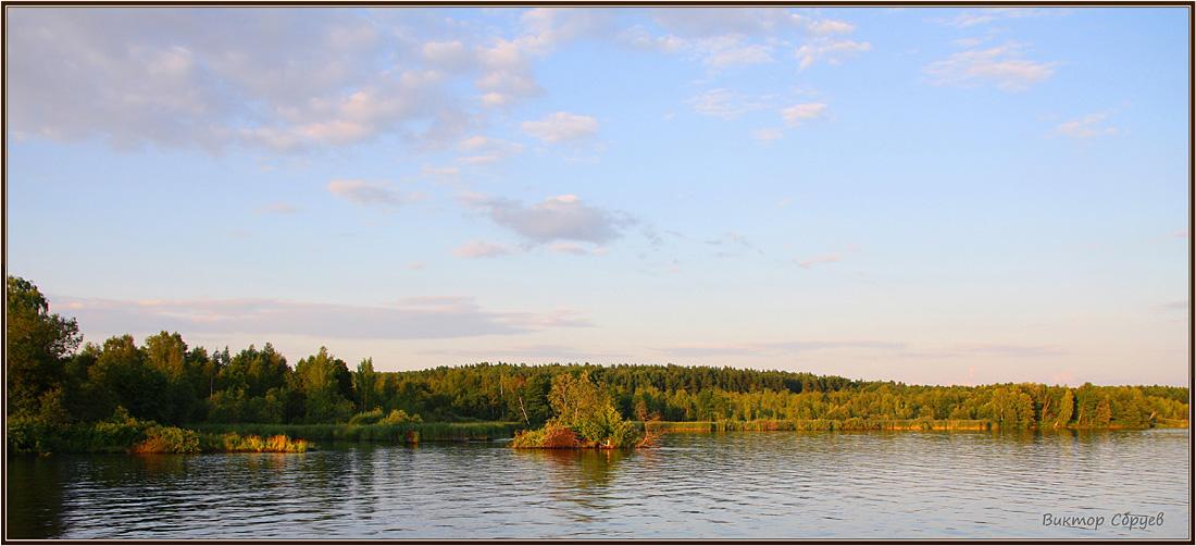 """фото """"Вечерело"""" метки: пейзаж, лето"""