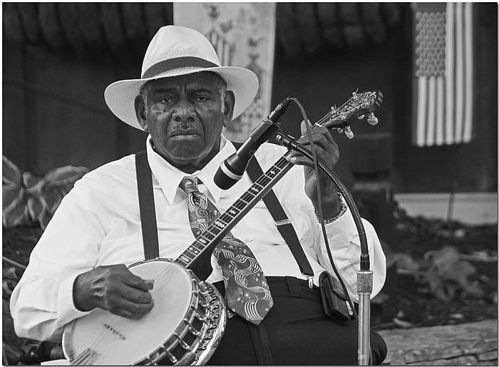 """фото """"Mr Banjo"""" метки: портрет, черно-белые, мужчина"""