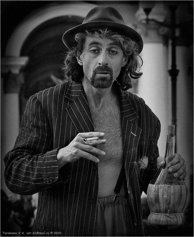 """фото """"ПРО ИнТАЛЬЯНЦА.... ВЫПИВШЕГО..."""" метки: портрет, жанр, мужчина"""