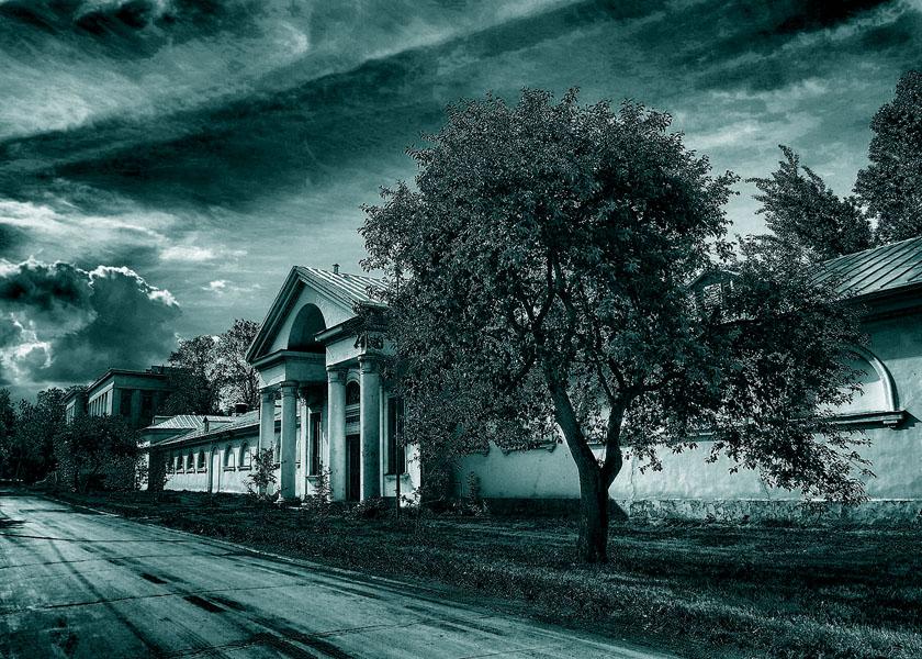 """фото """"Сон в летнюю ночь."""" метки: пейзаж, digital art,"""