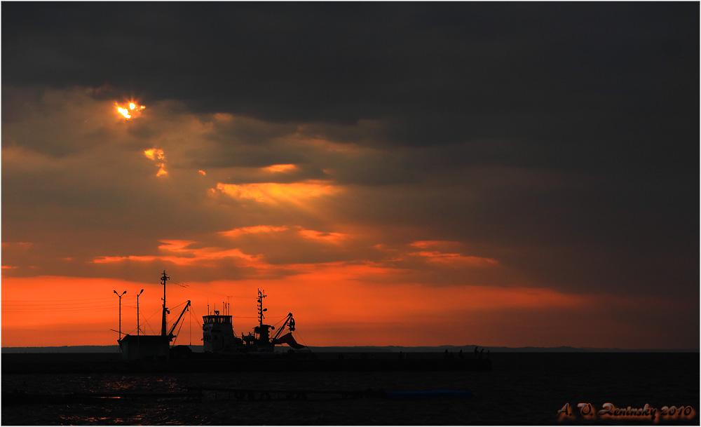 """фото """"Предзакатье"""" метки: пейзаж, закат, лето"""