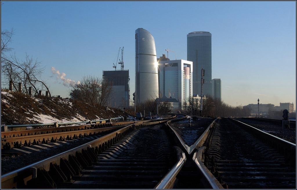 """фото """"Москва-сити 2007"""" метки: город, путешествия, Европа"""