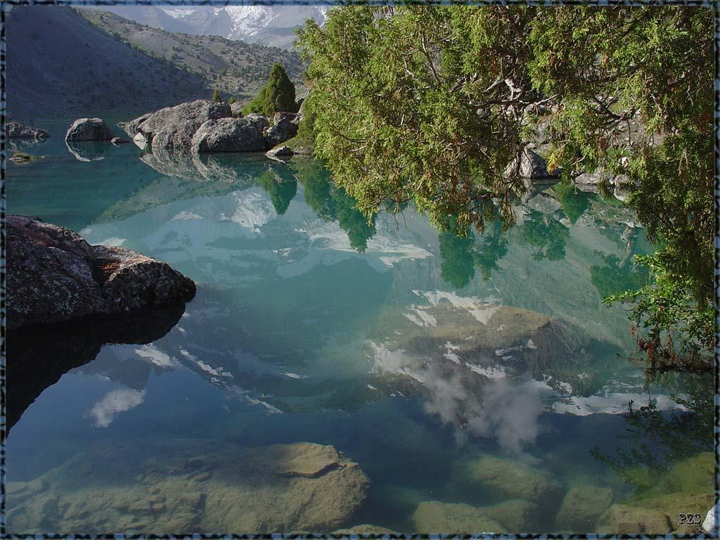 """фото """"Кристалльность №6"""" метки: пейзаж, путешествия, Азия, горы"""