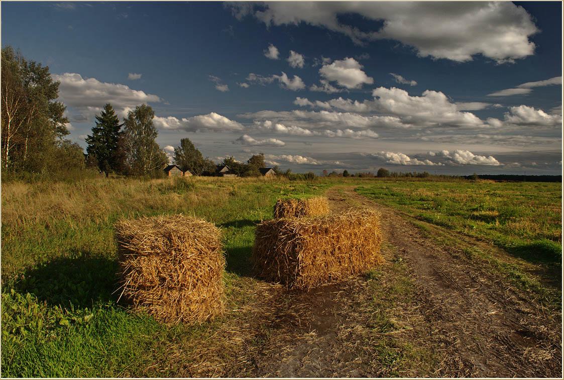 "фото ""Просто осень пришла"" метки: пейзаж, лето, облака"