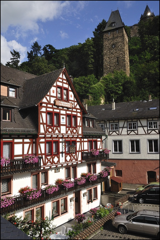 "фото ""Бахарах, Германия"" метки: путешествия, Европа"