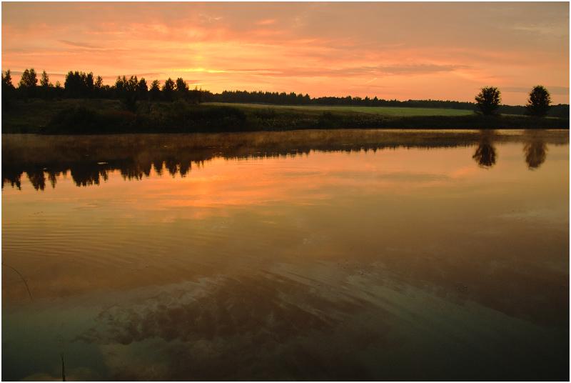 """фото """"на закате дня"""" метки: пейзаж, закат"""