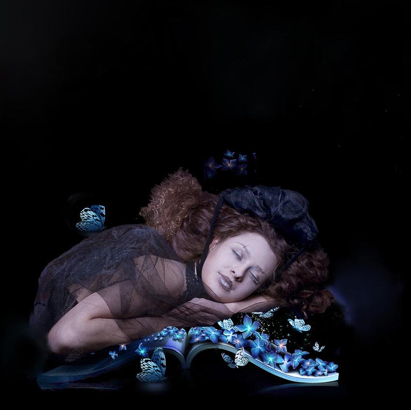 """фото """"не шумите.. фея спит.."""" метки: портрет, женщина"""